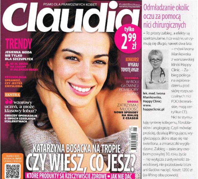 Claudia (wrześień 2014)