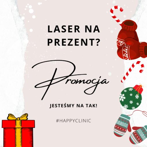 promocja peeling laserowy Happy Clinic